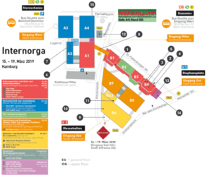 Fairmessage Hallenplan Internorga 2019