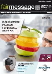 Aktuelle Ausgabe der Fairmessage zur MOTEK - BONDEXPO 2019